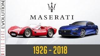 W.C.E - Maserati Evolution (1926 - 2018)