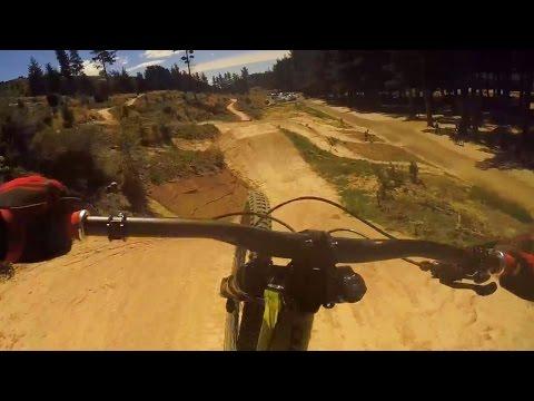 Freeride MTB on 70 jump trail, Airteroa, Christchurch Adventure Park