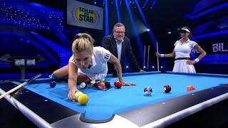 Matchballspiel Am Billardtisch | Sylvie Meis Vs. Lilly Becker - Schlag Den Star