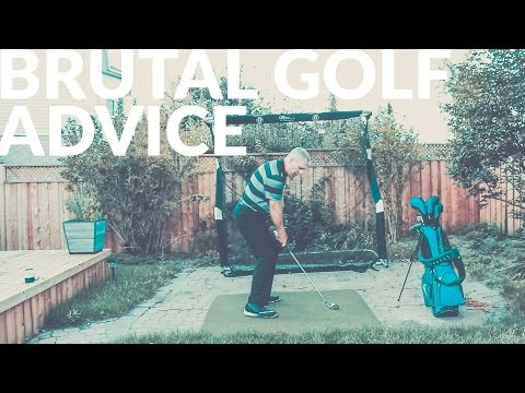 THE MOST BRUTAL GOLF ADVICE – Wisdom in Golf – Shawn Clement