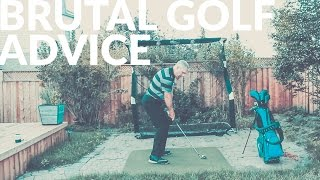 THE MOST BRUTAL GOLF ADVICE - Wisdom in Golf - Shawn Clement