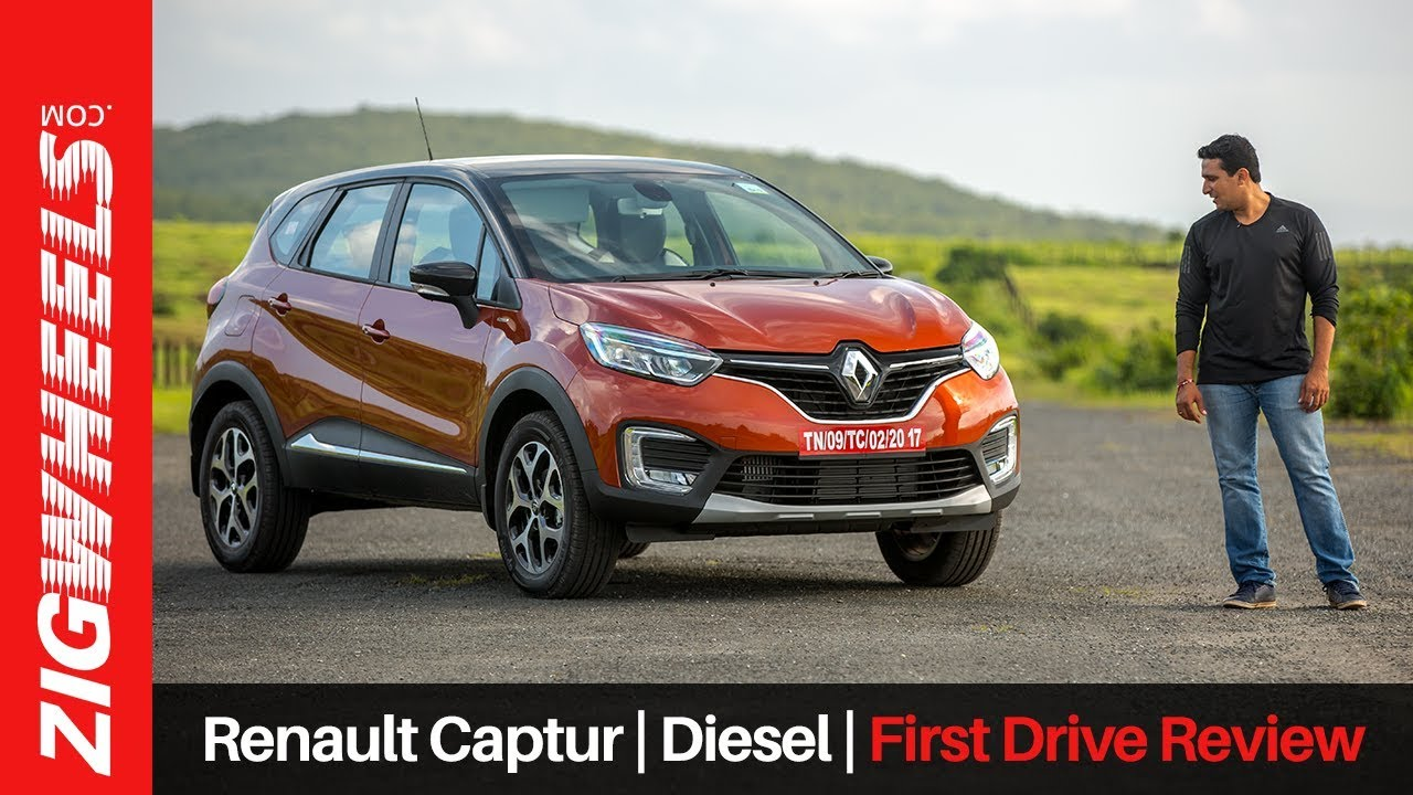 renault captur diesel first drive review zigwheels. Black Bedroom Furniture Sets. Home Design Ideas