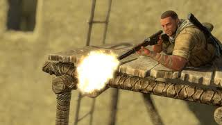 "Sniper Elite 3 - Chap 5 Siwa Oasis: Observe & Tag Correct Officer Then Assassinate, ""Full Progress"""