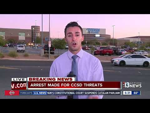 UPDATE: Person arrested for CCSD threats