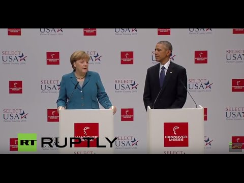 LIVE Merkel meets Obama, Cameron, Renzi and Hollande in Hannover (Part I)
