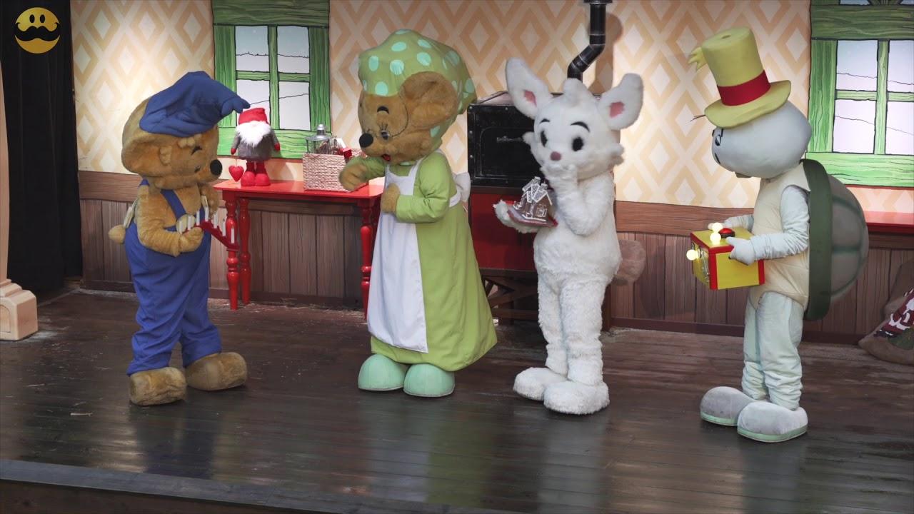 Bamse  Julen då alla glömde Vargen  Sagojul på Kolmården