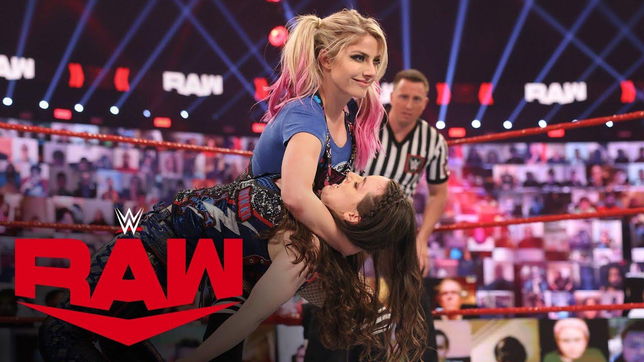 Download Alexa Bliss vs. Nikki Cross: Raw, Feb. 1, 2021