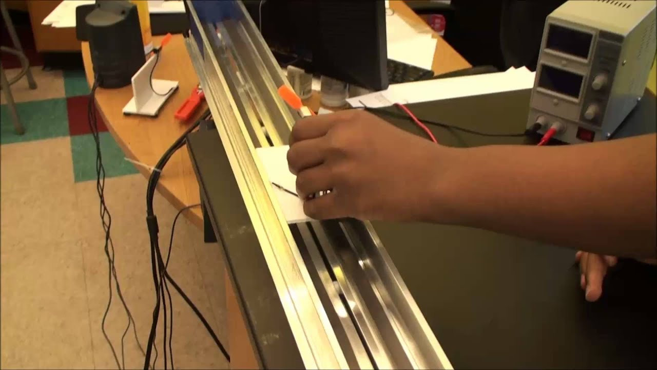 Maglev Vehicle School Project - Year of Clean Water