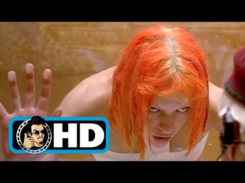 THE FIFTH ELEMENT (1997)  Movie Clip - Leeloo Escapes |FULL HD| Milla Jovovich