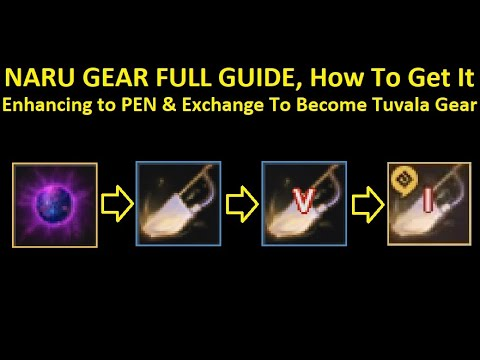 Naru Gear FULL GUIDE, How To Get, Enhancing to PEN & Exchang