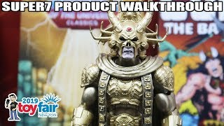 Super7 Product Walkthrough (Masters of the Universe, ReAction, More) at Toy Fair 2019