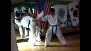 WTF Tae Kwon Do - One Step Sparring
