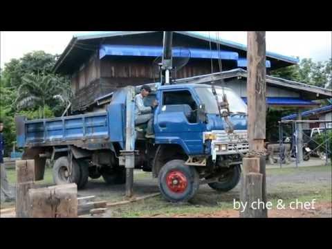 เครนรถ 6 ล้อ Toyota Truck mounted crane Thailand