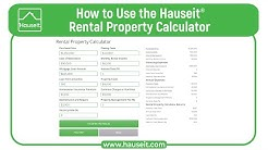 How to Use the Hauseit Rental Property Calculator [2019 Tutorial]