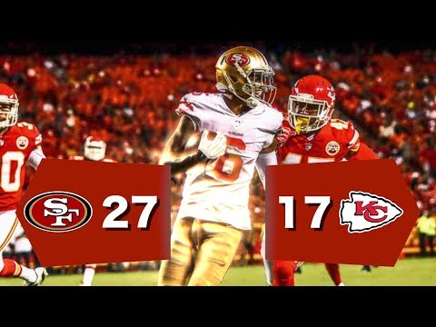 49ers VS Chiefs Postgame NFL 2017 Preseason Week 1 Gathering