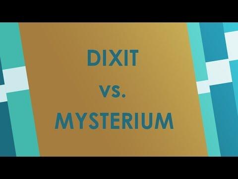 Dixit vs. Mysterium (Essen 2015) - Brettspiel Battlereview