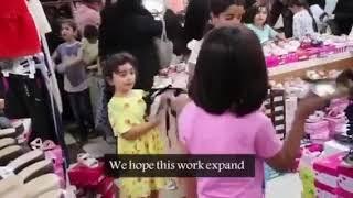 Eid klær til yateem (foreldreløse) i Erbil og Duhok