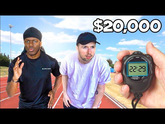 If I Run Faster Than KSI, I Win $20,000