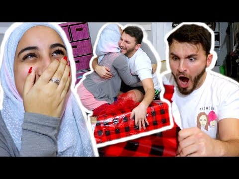 HER SURPRISE MADE ME CRY!