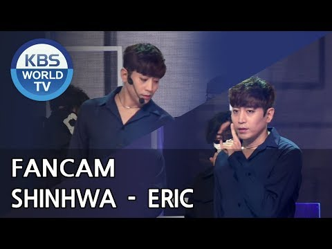 [FOCUSED] SHINHWA's ERIC  - All Your Dreams [Music Bank / 2018.06.29]