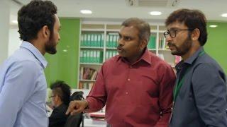 Rj Balaji & Luthfudeen Super funny Comedy Scene in office - Parandhu Sella Vaa