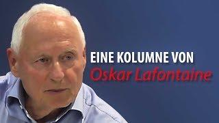 Oskar Lafontaine: Kommt nach Ramstein und protestiert gegen die völkerrechtwidrigen Kriege!