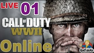 Call of Duty: WWII - Gameplay ITA - LIVE #01 - Problemi in multiplayer