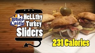 White Castle Style Turkey Sliders