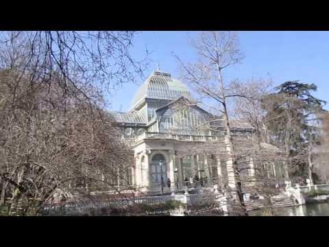PALACIO DE CRISTAL - PARQUE DEL RETIRO - MADRID - ESPAÑA