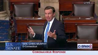 Senator Murphy Takes to Senate Floor to Slam McConnell's Inaction On COVID-19 Relief Package