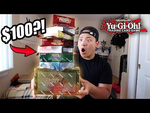 WHAT $100 CAN BUY YOU IN YU-GI-OH! ($100 MASSIVE YUGIOH HAUL/BEGINNERS BUYING GUIDE)