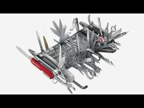 Must See Review Wenger 16999 Swiss Army Knife Giant Youtube