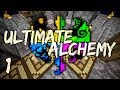 Ultimate Alchemy Minecraft Modpack Ep. 1 Clay Challenge Accepted