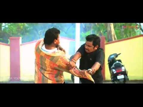 Sampoornesh First Punch in  Singham123 movie - Singham123 Comedy Scene