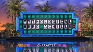Wheel Of Fortune - Achilles Who? Dicespin What? (apr. 11, 2014)
