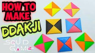 How to make Ddąkji @ Ttakji Squid Game