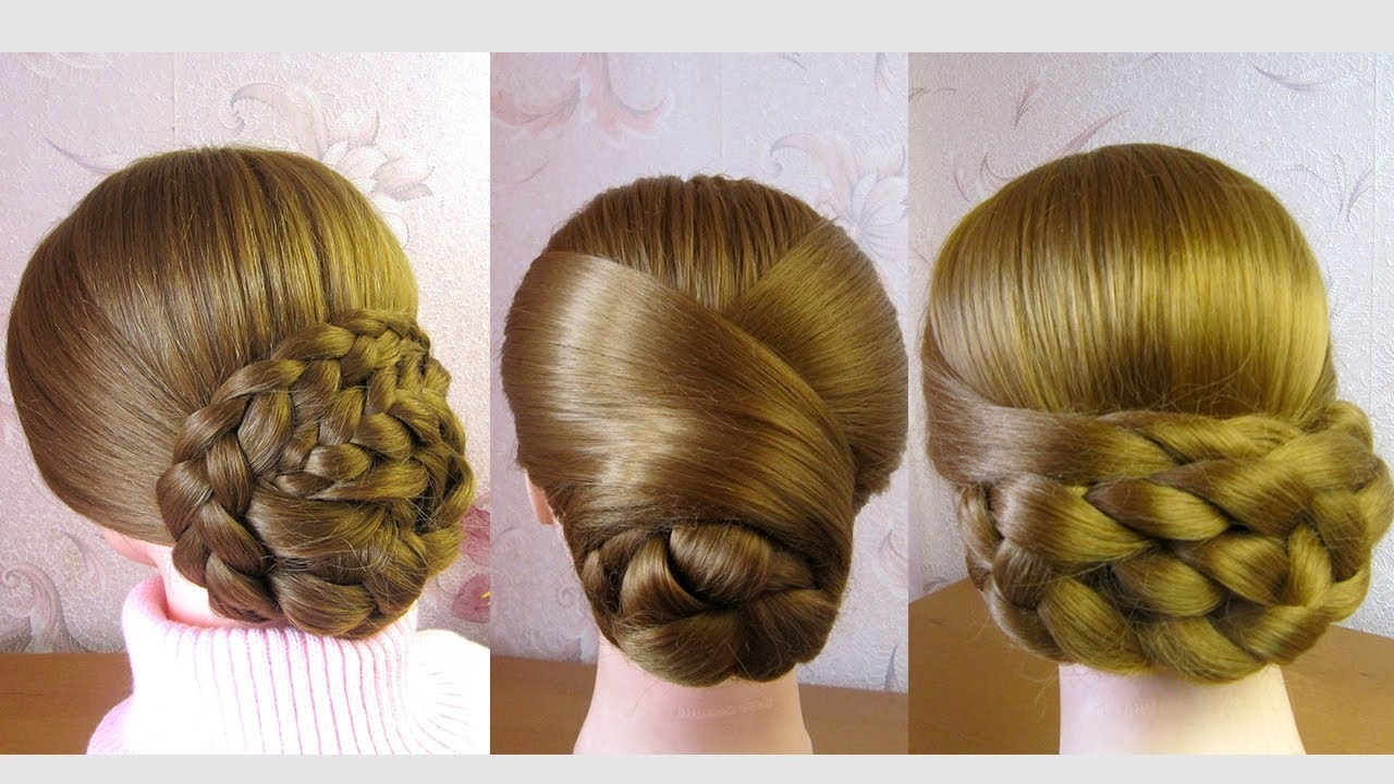 New Low Bun Hairstyles Easy Elegant Updos 2020 3 Chignons Bas Facile A Faire Youtube