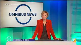 Omnibus News (Puntata 20/11/2017) thumbnail