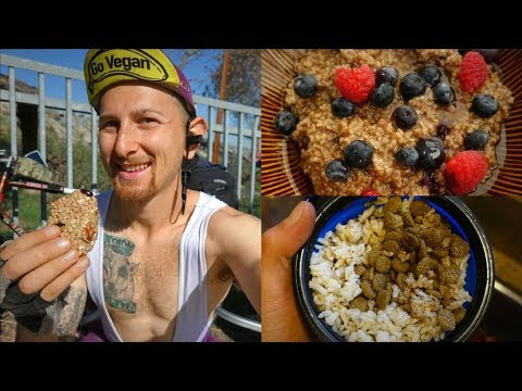 WHAT MY DOG & I EAT IN A DAY // CYCLING CALIFORNIA