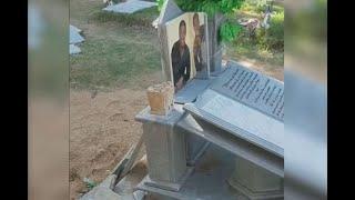 Familia de Kaleth Morales quiere reubicar sus restos porque vándalos le dañaron la tumba