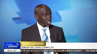 Group CEO, David Gatende interview on CGTN on World Water Day, March 22 2019