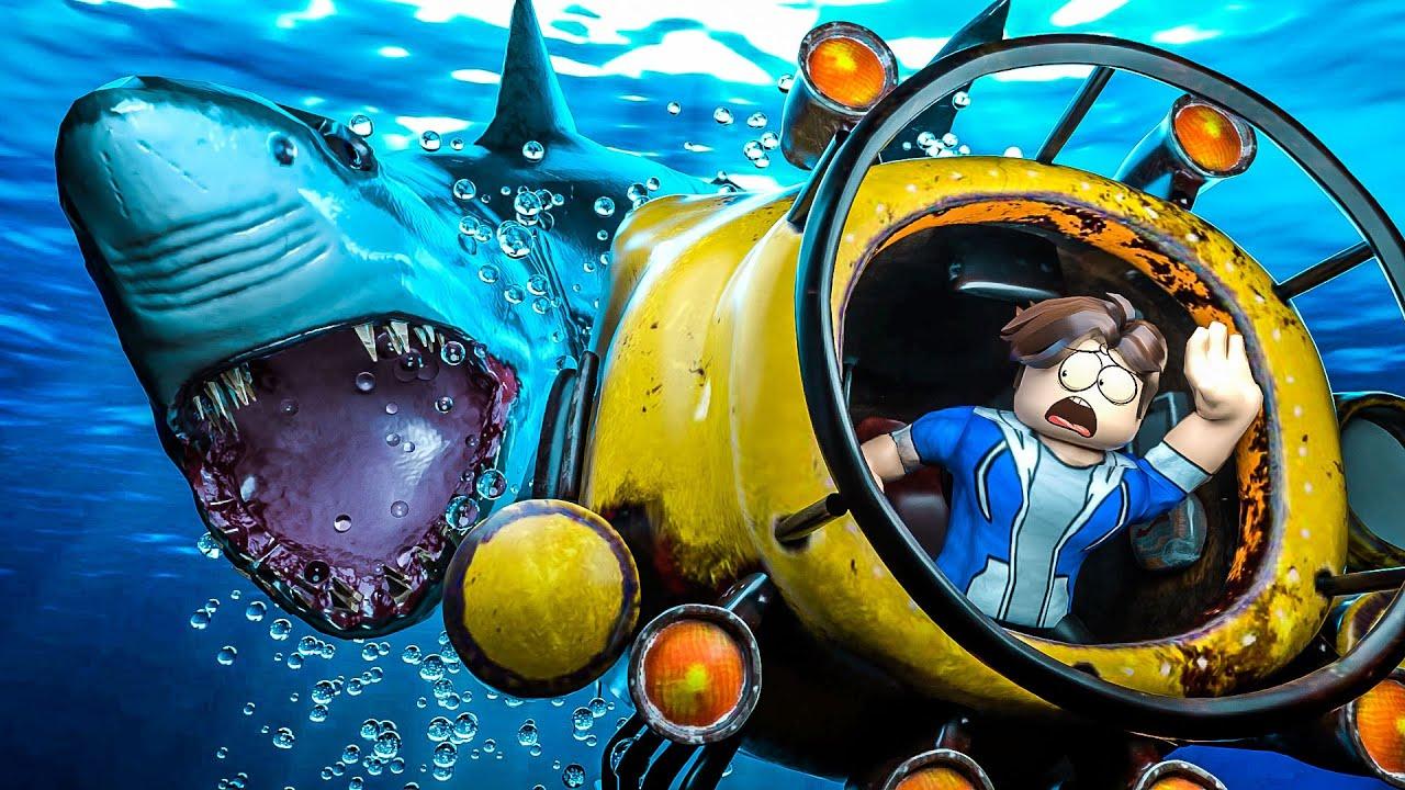 Roblox Virei Uma Agua Viva E Explorei O Oceano Fish Simulator Catching A Neon Shark Fishing Simulator Youtube