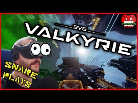 SNARE PLAYS : EVE VALKYRIE (VR)