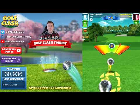 Golf Clash tips, Playthrough, Hole 1-9 - ROOKIE - Gridiron Tournament!