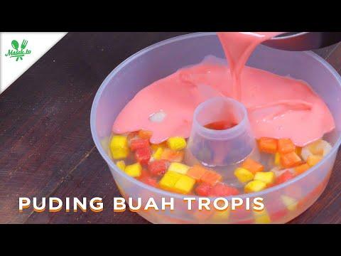 PUDING BERIKLIM TROPIS? | Puding Buah Tropis
