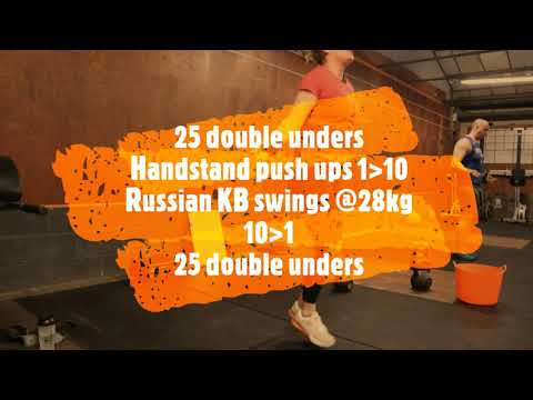 Crossfit Training - Sunday 9th February 2020.....can you beat my 100m time?