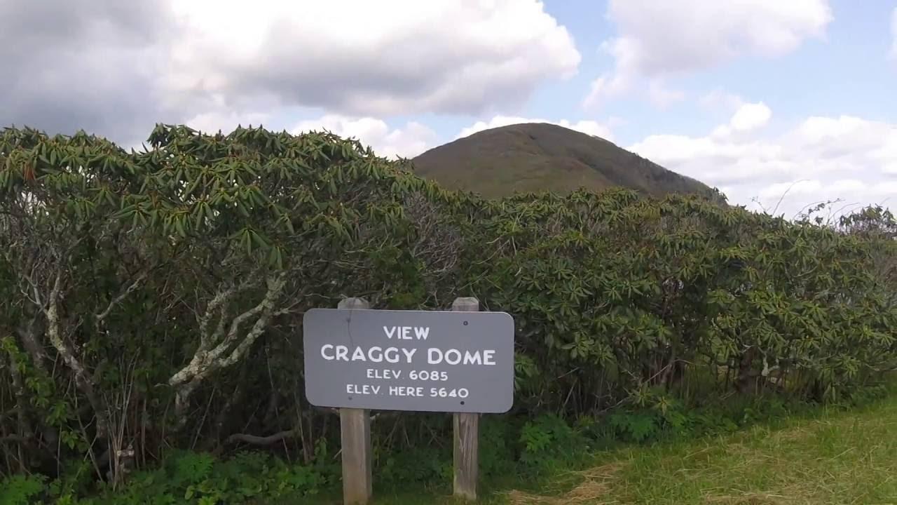 Craggy Gardens Pinnacle Trail Youtube