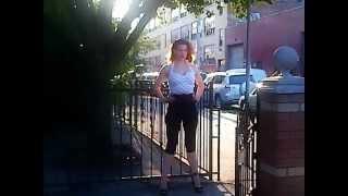 Redhead Jayne Caswell Calendar Shoot 2013 retro-pin up look Thumbnail