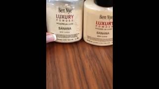 FAKE vs. REAL Ben NYE Luxury Banana Powder .
