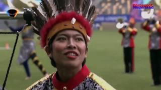 Indonesia Drum Corps tijdens WMC Kerkrade 2017